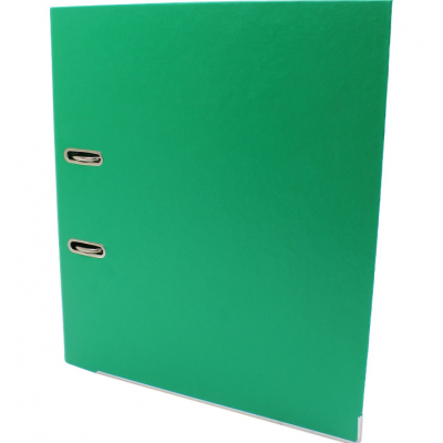 Папка-регистратор А4 Economix Люкс 70мм, зеленая