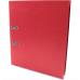 Папка-регистратор А4 Economix Люкс 70мм, красная - Фото 2