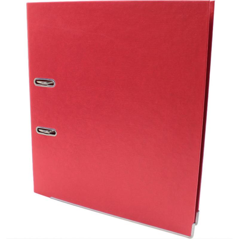 Папка-регистратор А4 Economix Люкс 70мм, красная