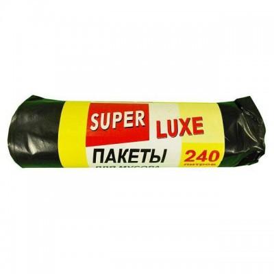 Пакет для мусора 240л * 5шт черный