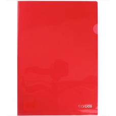 Папка-куточок А4 Economix щільна під нанесення, червона