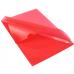 Папка-уголок А4  Economix плотная под нанесение, красная - Фото 4