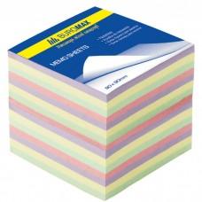 """Блок бумаги для заметок """"Декор"""" 90х90х70мм, не скл."""