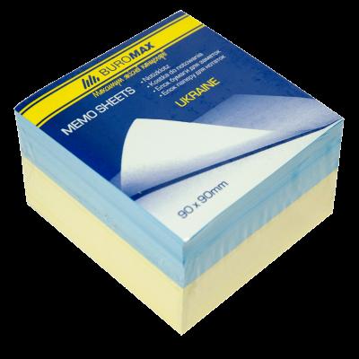 "Блок бумаги для заметок ""Украина"" 90х90х60мм, скл."