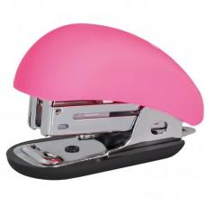 Степлер 24/6 26/6 мини OPTIMA розовый