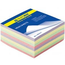 """Блок бумаги для заметок """"Декор"""" 90х90х40мм, не скл."""