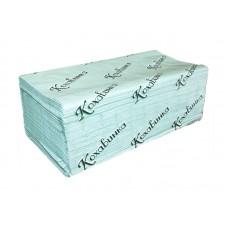"""Полотенца бумажные в листах """"Кохавинка"""" V-V 200 зеленые"""