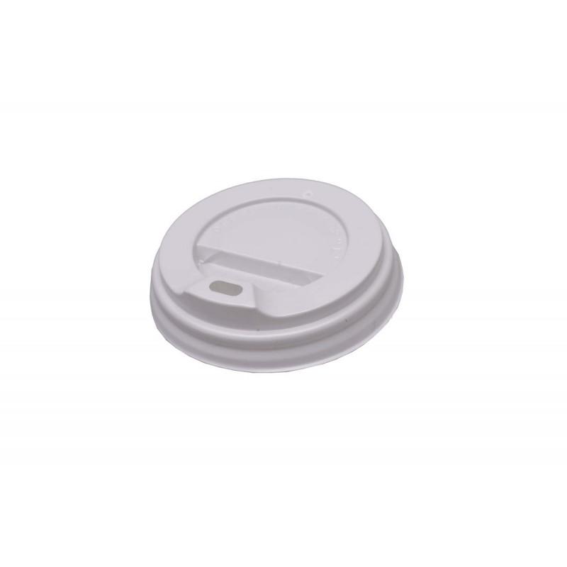 Крышка для картонного стакана одноразовая 250 мл диаметром 75 и высотой 11 мм упаковка 50 шт.