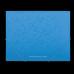 Папка пластиковая А5 на резинках голубая Barocco - Фото 4