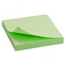 Блок для заметок с липким слоем 38*50 Economix, 100 салатовых листов
