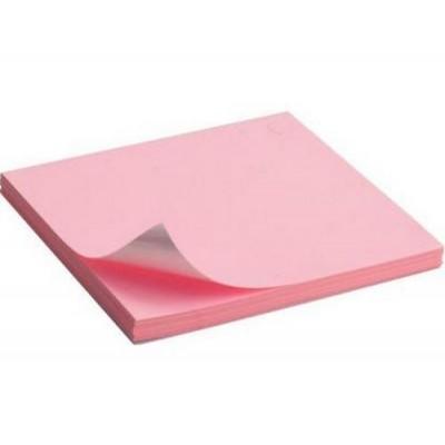Блок для заметок BuroMax с клейким шаром 38*50, 100 листов, розовый