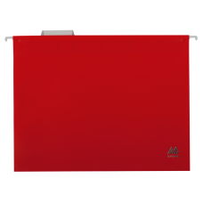 Подвесной файл А4 Buromax, пластик, красный