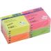 Блок для заметок Buromax NEON 76х76 мм, 100 лист. ассорти - Фото 7