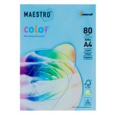 Бумага А4 Maestro Color АВ48 (синий)