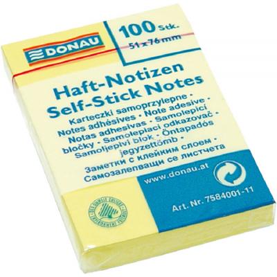 Блок для заметок Donau 51x76/100 листов