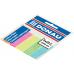 Закладки пластиковые Donau с клейкой полоской 5 кол*25 лист, 45x12 мм, неон, ассорти - Фото 2