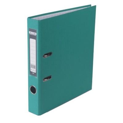 Оптовый Набор: Папка регистратор LUX односторонняя JOBMAX A4, 50 мм, бирюзовая, 10 шт. + Календарь