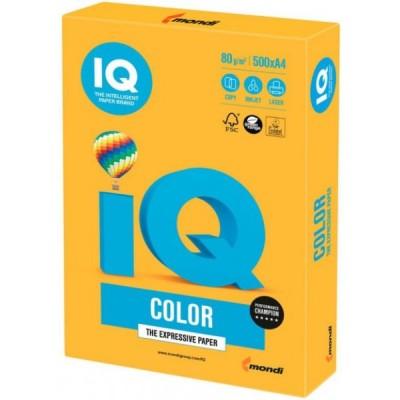Бумага А4 IQ Color Neon Orange, оранжевый 1040307