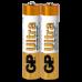 Батарейка Gp 24AU-S2 Ultra Alkaline LR03, AAA - Фото 3