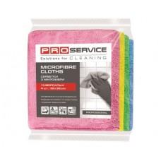 Pro-servise салфетки с микрофибры professional 38*38 4шт