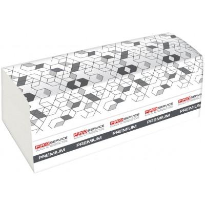 Бумажные полотенца Proservise Premium двухслойные 160 шт белые