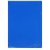 Папка уголок А4 Экономикс, 180 мкм фактура глянец синяя - Фото 3