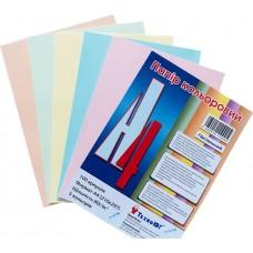 Бумага А4 Mini ассорти, пастельный, 100 листов
