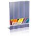 Блокнот «Тартан» А5, термобиндер, 80 листов, клетка, фиолетовый - Фото 2