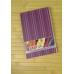 Блокнот «Тартан» А5, термобиндер, 80 листов, клетка, фиолетовый - Фото 3