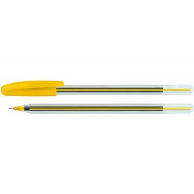 Ручка масляная Economix COLIBRI, ассорти корпус, синяя паста.