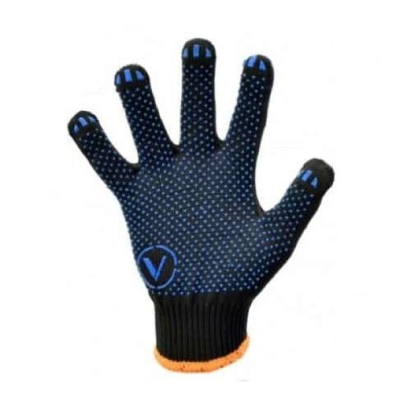 Перчатки с ПВХ, черные 23018