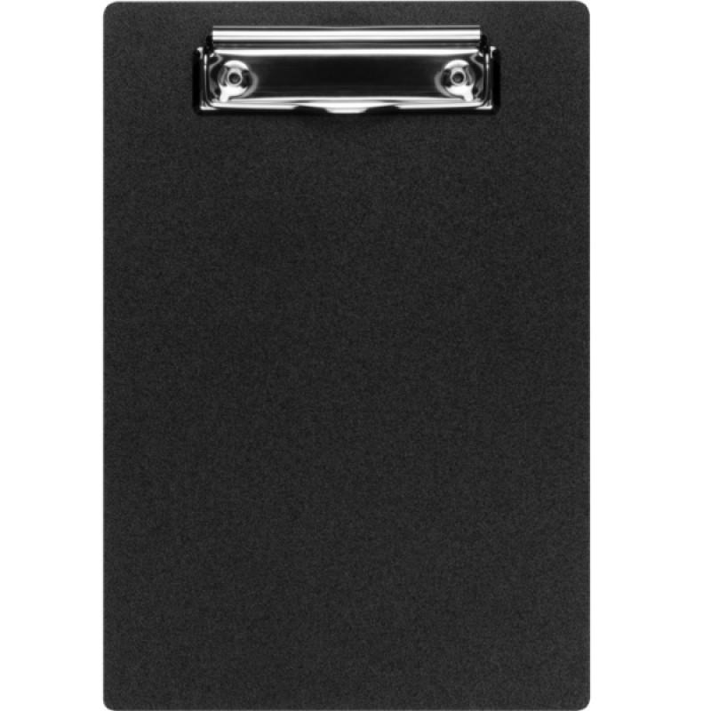 Планшет А5 Economix с прижимом, пластик, черный E30157-01