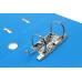 Папка-регистратор А4 LUX Economix, 70 мм, бирюзовая - Фото 4
