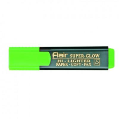 Маркер текстовый Flair 850 зеленый 1-5мм Superglow Hi-lighter