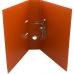 Папка-регистратор А4 LUX Economix, 70 мм, оранжевая - Фото 3