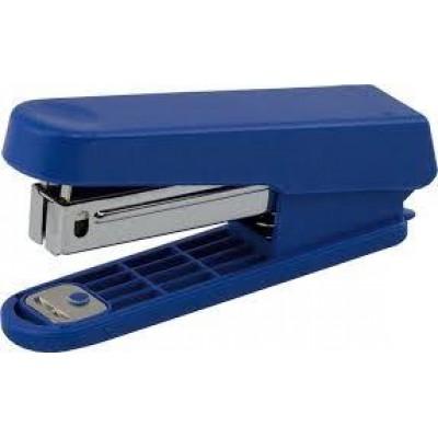 Степлер пластиковый Buromax 15 листов (скобы №10) синий