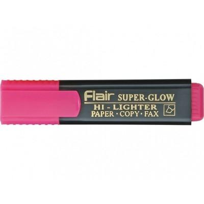 Маркер текстовый Flair 850 розовый 1-5мм Superglow Hi-lighter