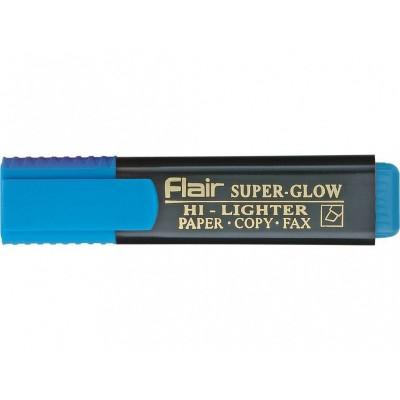 Маркер текстовый Flair 850 синий 1-5мм Superglow Hi-lighter