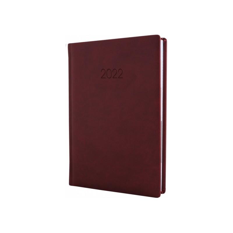 Ежедневник датированной, VIVELLA, бордо, А6, E21893