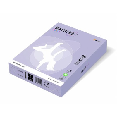 Бумага A4 Maestro color лиловый LA 12