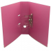 Папка-регистратор А4 LUX Economix, 70 мм, розовая - Фото 3