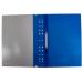 Папка-скоросшиватель А4 Economix с перфорацией, фактура глянец, синяя - Фото 4