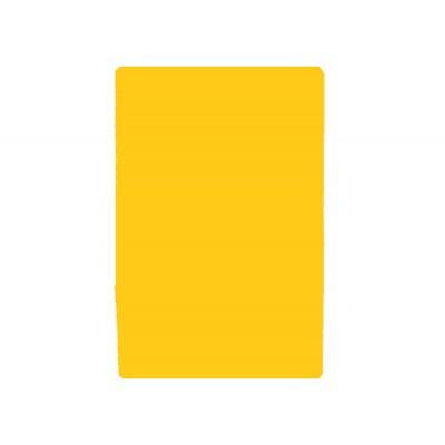 Деловая записная книжка А5, Vivella, твердая обложка, белый нелинованный блок, цвет – желтый