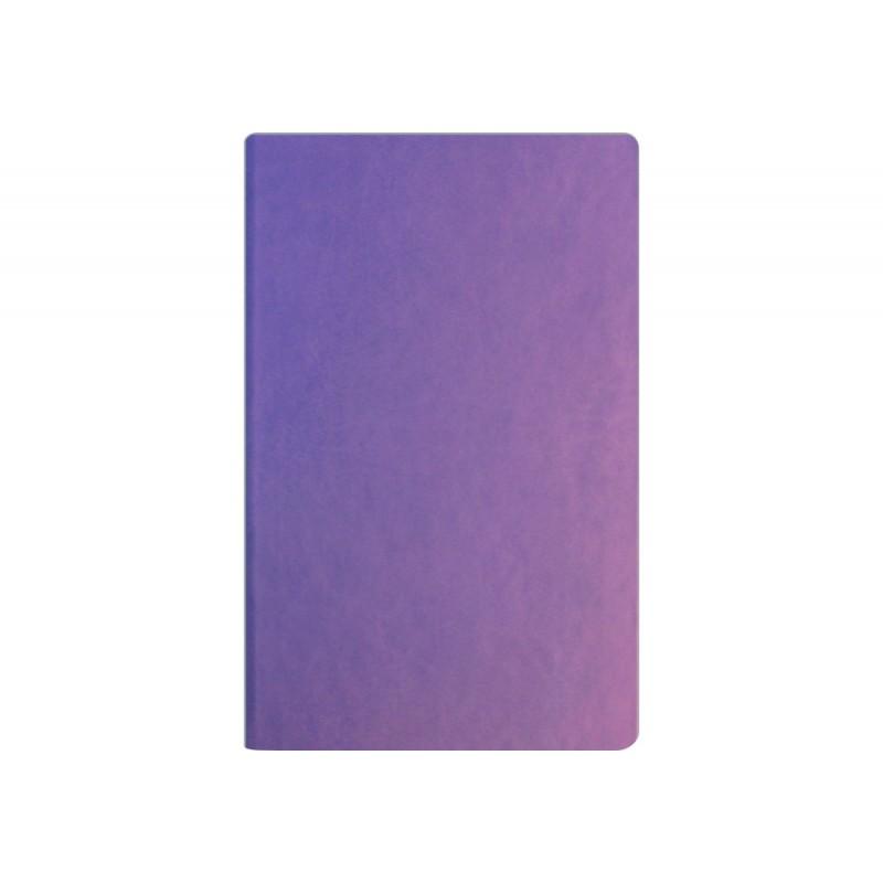 Деловая записная книжка А5, Vivella, твердая обложка, белый нелинованный блок, цвет – сиреневый