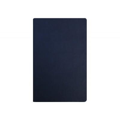 Деловая записная книжка А5, Vivella, твердая обложка, белый нелинованный блок, цвет - темно-синий