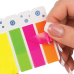 Закладки пластиковые с клейким слоем NEON, 45х25 мм + 45х12 мм, 3х40 листов ассорти - Фото 4