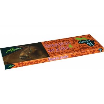 Краски акварельные медовые Africa, Economix, 14 цветов, без кисточки, картон E60110