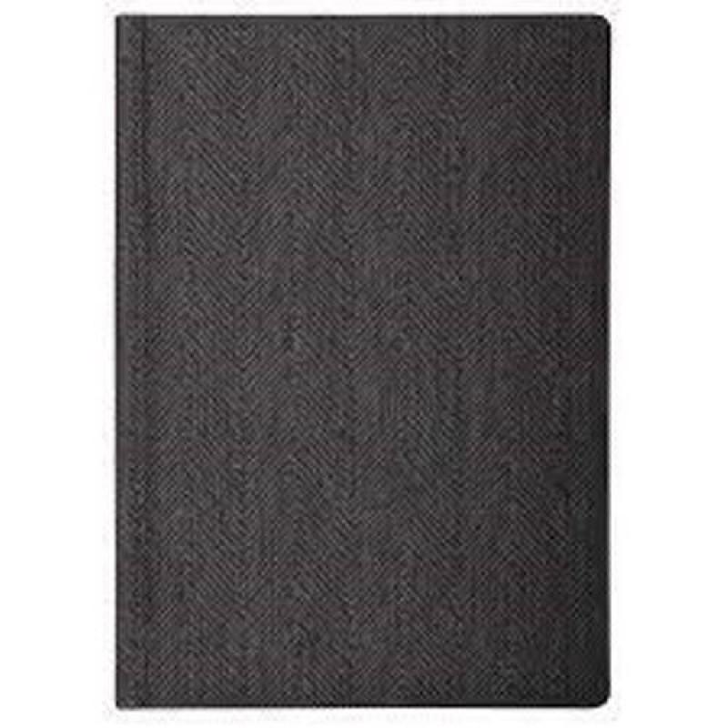 Ежедневник недатированный, TWEED, серый, А5, блок кремовый, Optima O25410-10