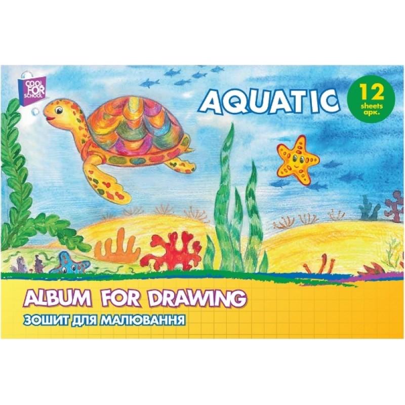 Альбом для рисования на скобе CF60901-03