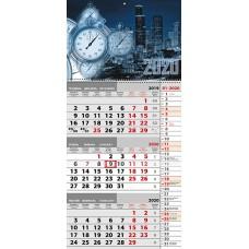 Квартальный календарь на 2020 год. Ночной город